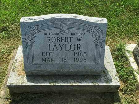TAYLOR, ROBERT W - Perry County, Illinois | ROBERT W TAYLOR - Illinois Gravestone Photos