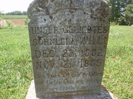 WAGNER, WILLI - Perry County, Illinois | WILLI WAGNER - Illinois Gravestone Photos