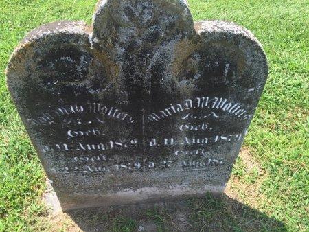WALTERS, JOHANNES - Perry County, Illinois   JOHANNES WALTERS - Illinois Gravestone Photos