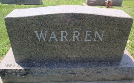 WARREN, FAMILY MARKER - Perry County, Illinois   FAMILY MARKER WARREN - Illinois Gravestone Photos