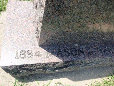 WARREN, MASON (CLOSE-UP) - Perry County, Illinois   MASON (CLOSE-UP) WARREN - Illinois Gravestone Photos