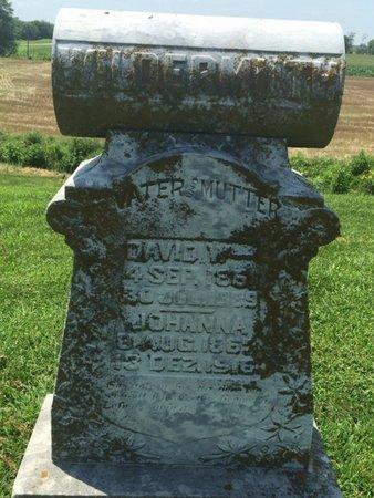 WILDERMUTH, JOHANNA - Perry County, Illinois | JOHANNA WILDERMUTH - Illinois Gravestone Photos