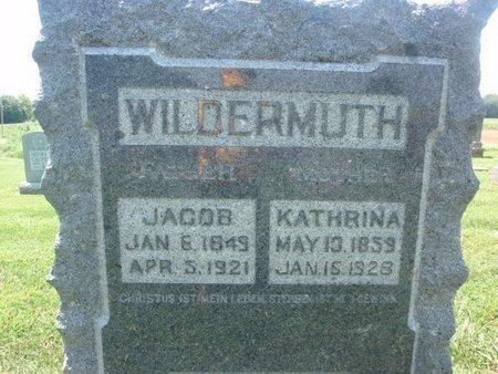 WILDERMUTH, JACOB - Perry County, Illinois | JACOB WILDERMUTH - Illinois Gravestone Photos