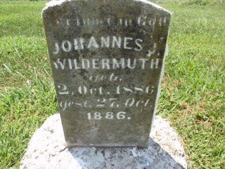 WILDERMUTH, JOHANNES J - Perry County, Illinois | JOHANNES J WILDERMUTH - Illinois Gravestone Photos
