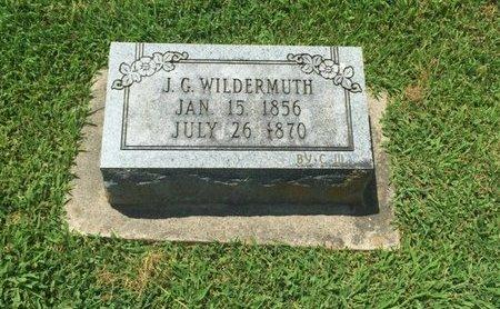 WILDERMUTH, J G - Perry County, Illinois | J G WILDERMUTH - Illinois Gravestone Photos