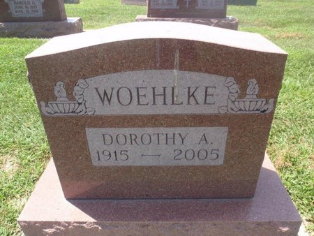 WOEHLKE, DOROTHY A - Perry County, Illinois   DOROTHY A WOEHLKE - Illinois Gravestone Photos