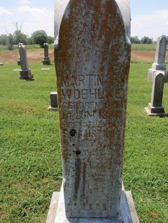 WOEHLKE, MARTIN F - Perry County, Illinois | MARTIN F WOEHLKE - Illinois Gravestone Photos