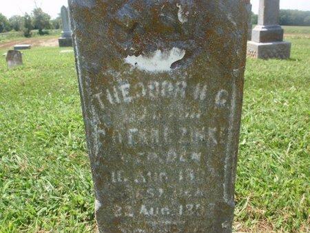 ZINKE, THEODOR H C - Perry County, Illinois   THEODOR H C ZINKE - Illinois Gravestone Photos