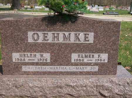 OEHMKE, HELEN - Piatt County, Illinois | HELEN OEHMKE - Illinois Gravestone Photos