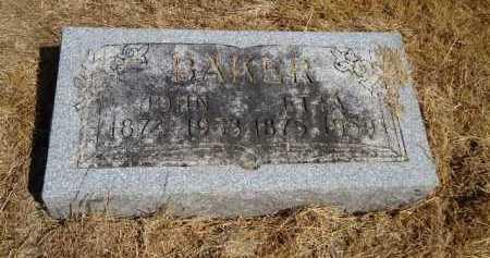 BAKER, ETTA - Pike County, Illinois | ETTA BAKER - Illinois Gravestone Photos