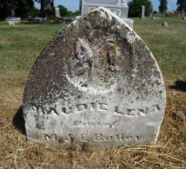 BATLEY, MAUDIE LENA - Pike County, Illinois | MAUDIE LENA BATLEY - Illinois Gravestone Photos