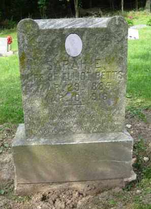 BETTS, SARAH E. [ELLEN] - Pike County, Illinois | SARAH E. [ELLEN] BETTS - Illinois Gravestone Photos