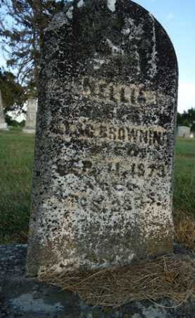 BROWNING, NELLIE - Pike County, Illinois | NELLIE BROWNING - Illinois Gravestone Photos