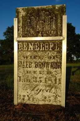 BROWNING, PENELOPE - Pike County, Illinois   PENELOPE BROWNING - Illinois Gravestone Photos