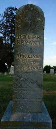 BRYANT, RALPH - Pike County, Illinois | RALPH BRYANT - Illinois Gravestone Photos