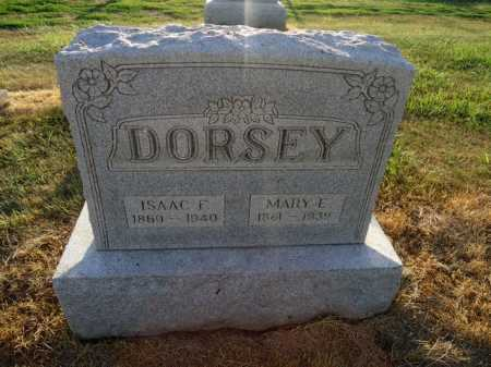 DORSEY, MARY E. - Pike County, Illinois | MARY E. DORSEY - Illinois Gravestone Photos