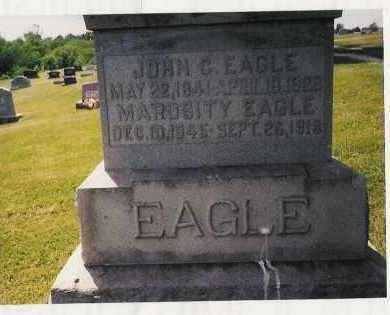 EAGLE, JOHN CARLOS - Pike County, Illinois | JOHN CARLOS EAGLE - Illinois Gravestone Photos