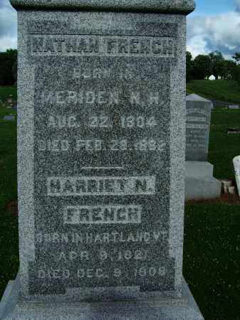 FRENCH, HARRIET N. - Pike County, Illinois | HARRIET N. FRENCH - Illinois Gravestone Photos