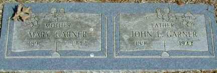 GARNER, MARY - Pike County, Illinois | MARY GARNER - Illinois Gravestone Photos