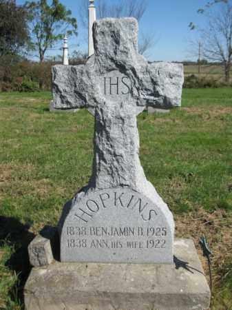 SIMPKIN HOPKINS, ANN - Pike County, Illinois | ANN SIMPKIN HOPKINS - Illinois Gravestone Photos