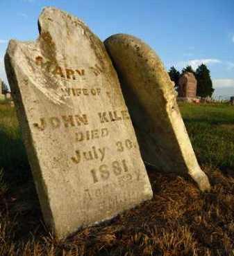 CHENOWETH KILE, MARY M. - Pike County, Illinois | MARY M. CHENOWETH KILE - Illinois Gravestone Photos