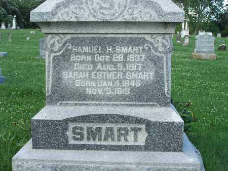 SMART, SAMUEL H. - Pike County, Illinois | SAMUEL H. SMART - Illinois Gravestone Photos
