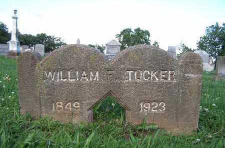 TUCKER, WILLIAM F. - Pike County, Illinois | WILLIAM F. TUCKER - Illinois Gravestone Photos