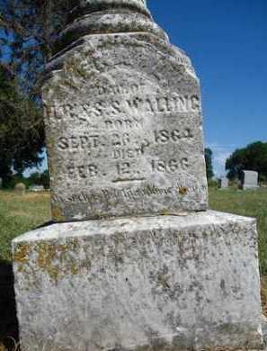 WALLING, LETA L. - Pike County, Illinois | LETA L. WALLING - Illinois Gravestone Photos