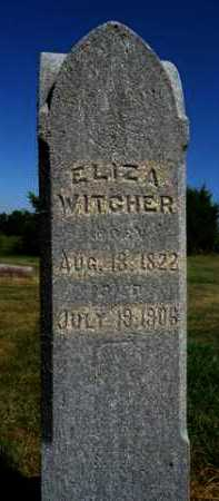 WITCHER, ELIZA - Pike County, Illinois | ELIZA WITCHER - Illinois Gravestone Photos