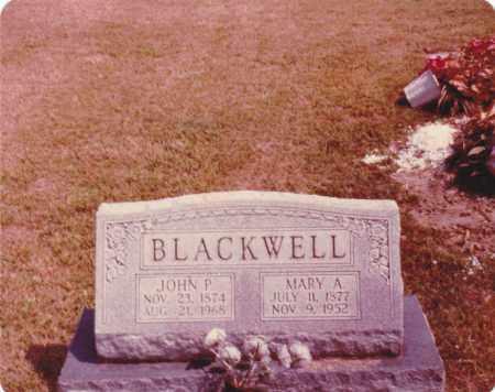 BLACKWELL, MARY ANN - Randolph County, Illinois | MARY ANN BLACKWELL - Illinois Gravestone Photos