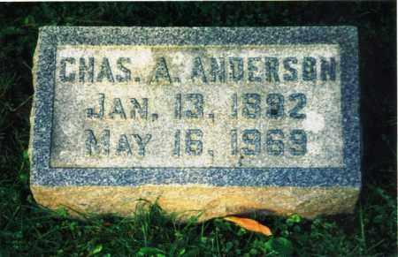 "ANDERSON, CARL ALFRED ""CHARLES"" - Rock Island County, Illinois   CARL ALFRED ""CHARLES"" ANDERSON - Illinois Gravestone Photos"
