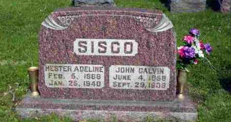 GORDON SISCO, HESTER ADELINE - Rock Island County, Illinois | HESTER ADELINE GORDON SISCO - Illinois Gravestone Photos