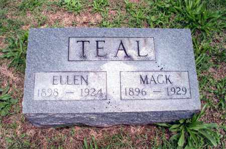 TEAL, MACK - Saline County, Illinois | MACK TEAL - Illinois Gravestone Photos