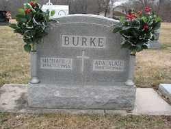 BURKE, MICHAEL JAMES - Sangamon County, Illinois | MICHAEL JAMES BURKE - Illinois Gravestone Photos