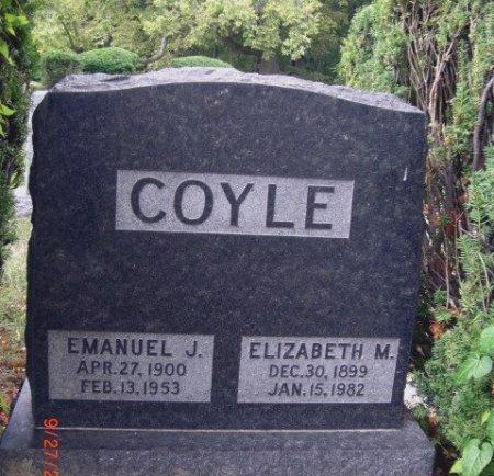 COYLE, ELIZABETH M. - Sangamon County, Illinois   ELIZABETH M. COYLE - Illinois Gravestone Photos