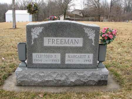 FREEMAN, MARGARET KATHERINE - Sangamon County, Illinois | MARGARET KATHERINE FREEMAN - Illinois Gravestone Photos