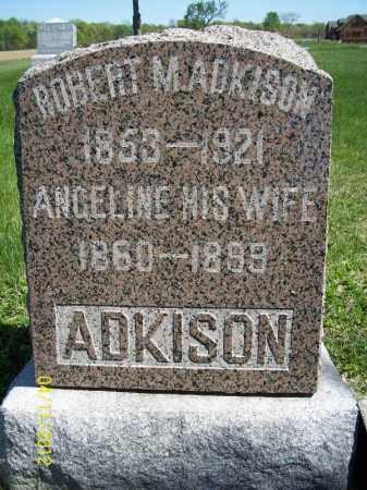 ADKISON, ANGELINE - Schuyler County, Illinois | ANGELINE ADKISON - Illinois Gravestone Photos