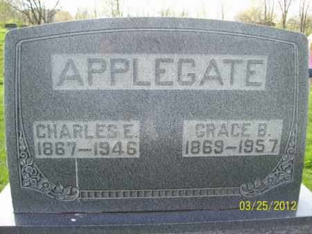APPLEGATE, GRACE B - Schuyler County, Illinois   GRACE B APPLEGATE - Illinois Gravestone Photos