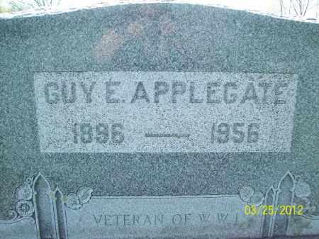 APPLEGATE, GUY E - Schuyler County, Illinois | GUY E APPLEGATE - Illinois Gravestone Photos