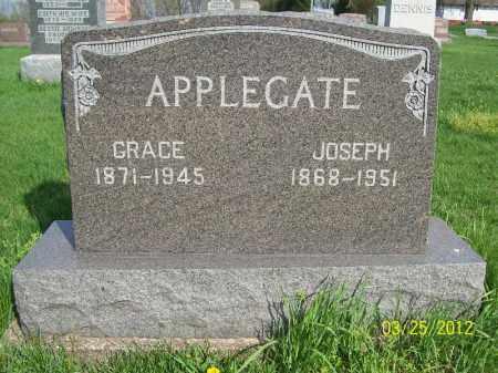 APPLEGATE, GRACE - Schuyler County, Illinois | GRACE APPLEGATE - Illinois Gravestone Photos
