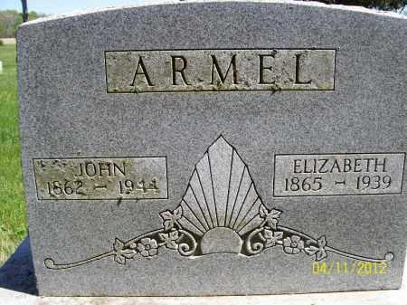 ARMEL, ELIZABETH - Schuyler County, Illinois   ELIZABETH ARMEL - Illinois Gravestone Photos