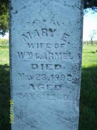 ARMEL, MARY E. - Schuyler County, Illinois | MARY E. ARMEL - Illinois Gravestone Photos