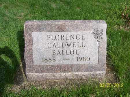 BALLOU, FLORENCE - Schuyler County, Illinois | FLORENCE BALLOU - Illinois Gravestone Photos