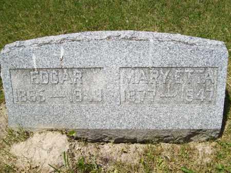 BLACKBURN, MARYETTA - Schuyler County, Illinois | MARYETTA BLACKBURN - Illinois Gravestone Photos