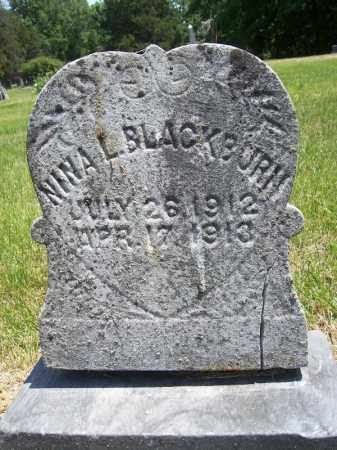 BLACKBURN, NINA L - Schuyler County, Illinois | NINA L BLACKBURN - Illinois Gravestone Photos
