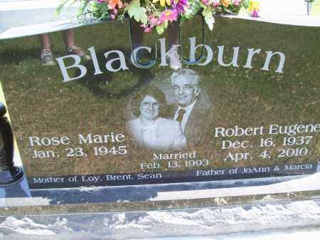 BLACKBURN, ROBERT EUGENE - Schuyler County, Illinois | ROBERT EUGENE BLACKBURN - Illinois Gravestone Photos
