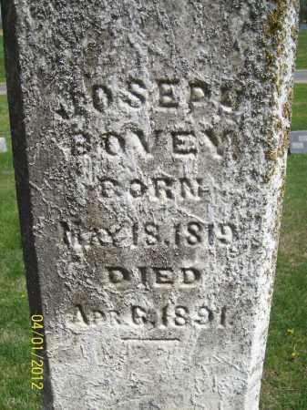 BOVEY, JOSEPH - Schuyler County, Illinois | JOSEPH BOVEY - Illinois Gravestone Photos