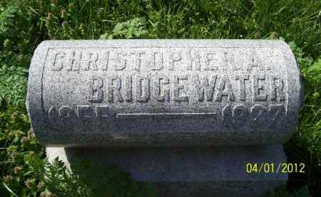 BRIDGEWATER, CHRISTOPHER A - Schuyler County, Illinois | CHRISTOPHER A BRIDGEWATER - Illinois Gravestone Photos