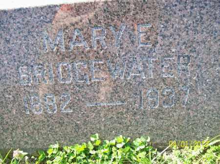 BRIDGEWATER, MARY E - Schuyler County, Illinois   MARY E BRIDGEWATER - Illinois Gravestone Photos