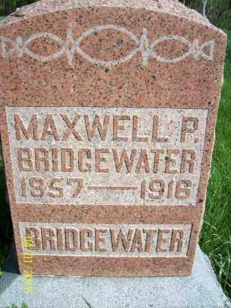 BRIDGEWATER, MAXWELL P - Schuyler County, Illinois | MAXWELL P BRIDGEWATER - Illinois Gravestone Photos